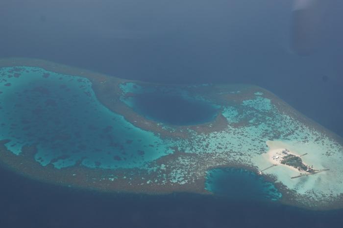 Malediven-von-oben
