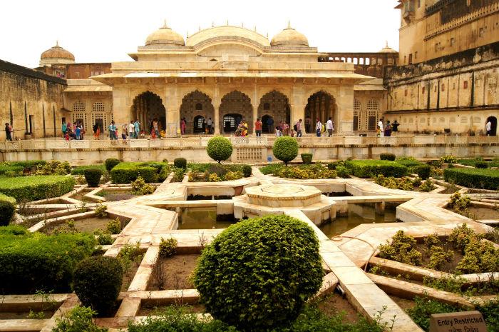 Palast von außen in Jaipur
