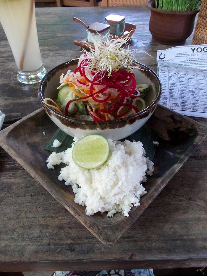 Reis Gemüse Drink