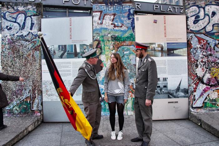 Soldaten-Berlin-Foto