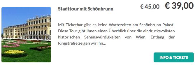 Stadttour mit Schönbrunn