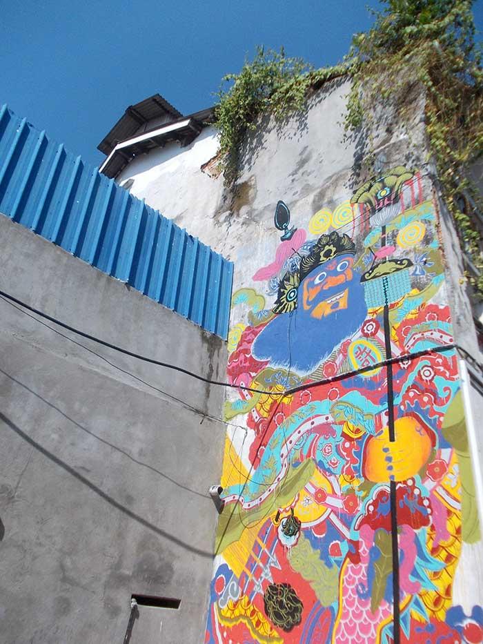 Streetart Georgetown Malaysia