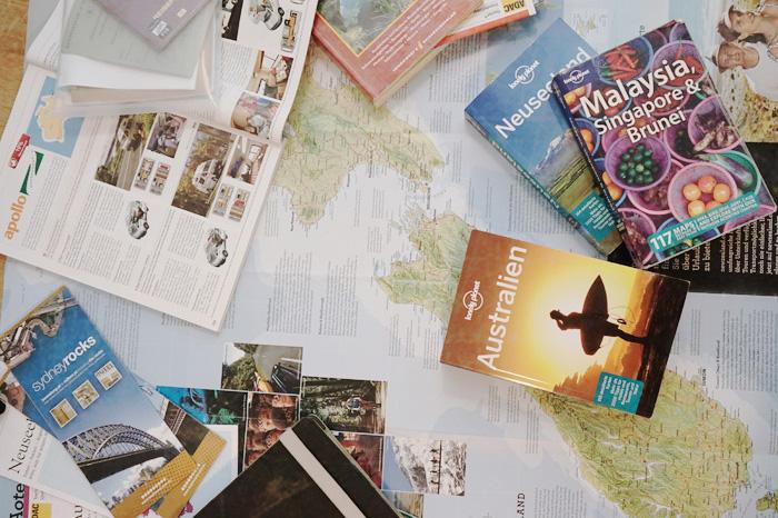 Weltreise-Route