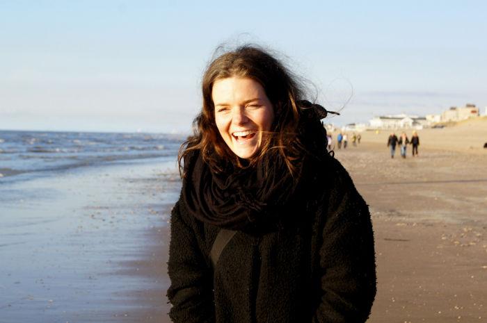 Anne in Noordwijk