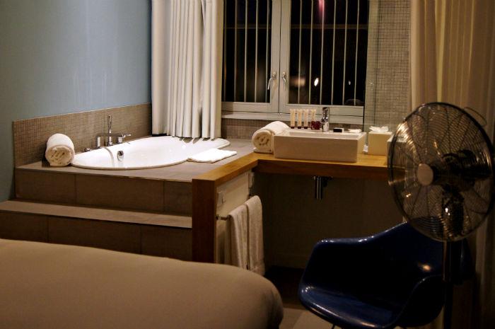 Badezimmer Vesper Hotel