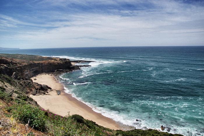 Bucht-Portugal