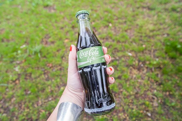 Coca-Cola-Life-Flasche
