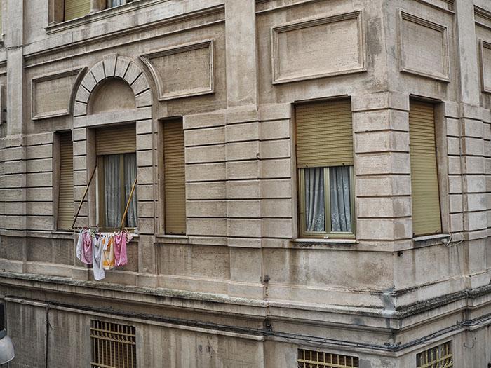 Genua Wäsche Italien