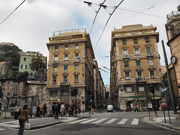 Genua Stadtzentrum