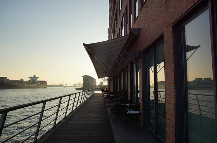 Hamburg Elbe Spaziergang