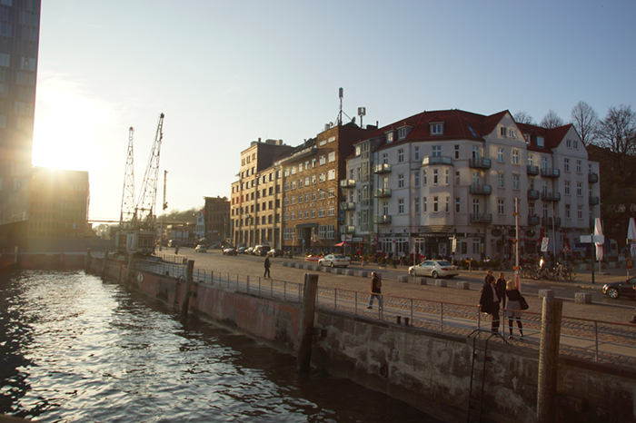 Hamburg Hafen Spaziergang