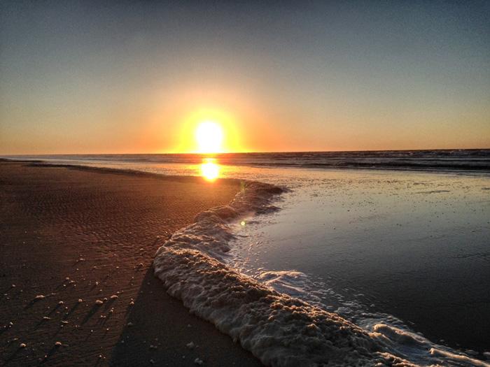 Juist-Sonnenuntergang