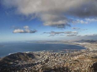 Kapstadt---Blick-vom-Tafelberg