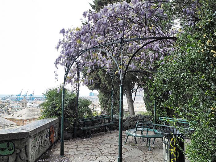 Park Genua Stadtzentrum
