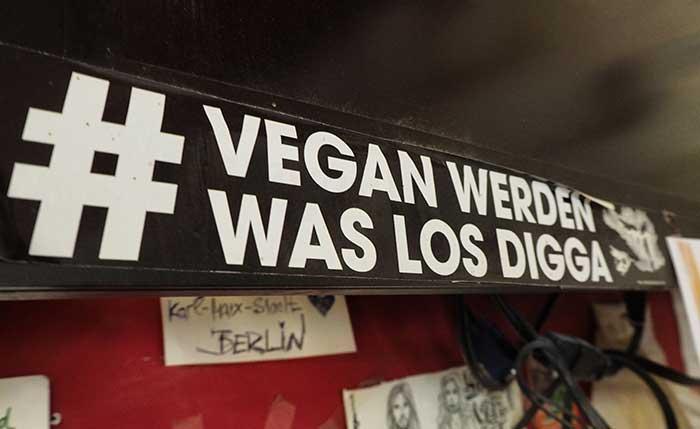 Vegan Werden Was los Digga