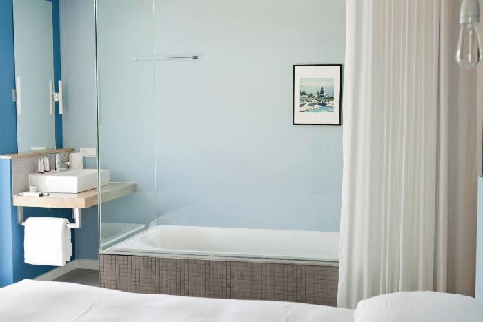 Vesper Hotel Badewanne