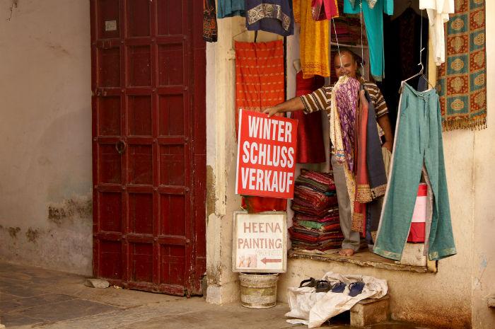 Winterschlussverkauf Udaipur