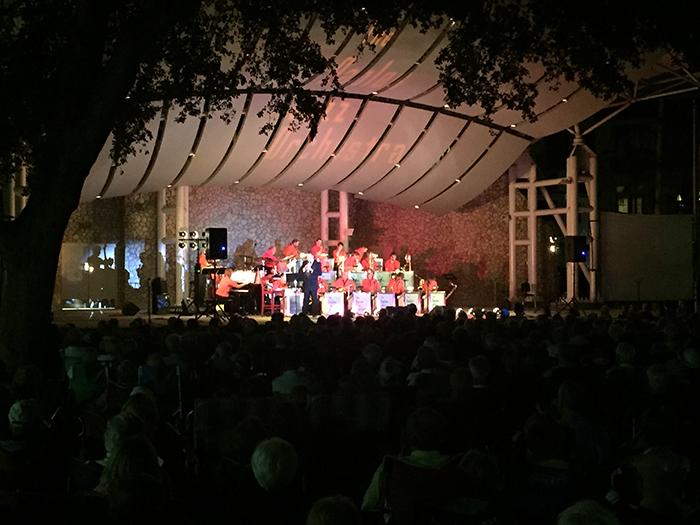 Jazz Konzert im Park