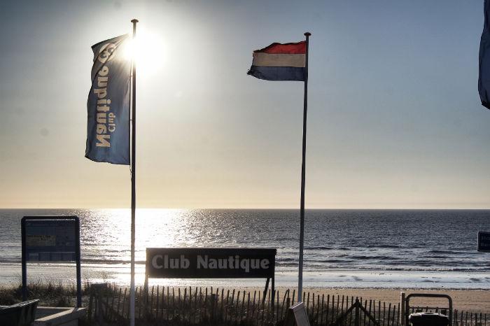 Am Strand von Zandvoort