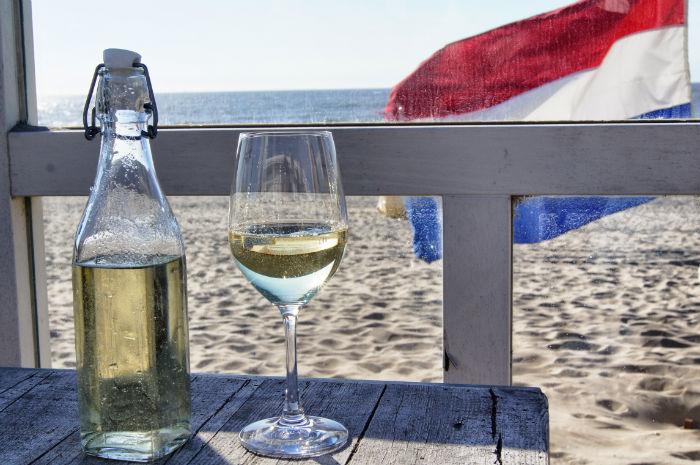 Beachbar in Zandvoort