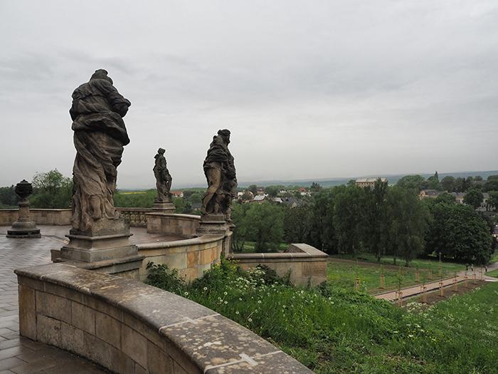 Statuen der Laster und Tugenden in Kuks