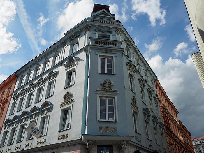 wunderschöne Altbauten in Ústí