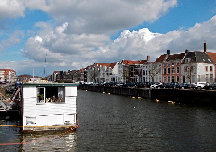Hausboot Middelburg_in_Zeeland