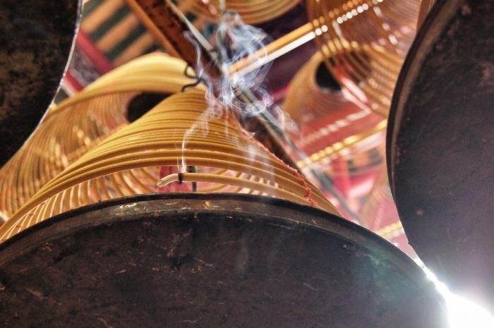 Hong Kong Man Mo Tempel