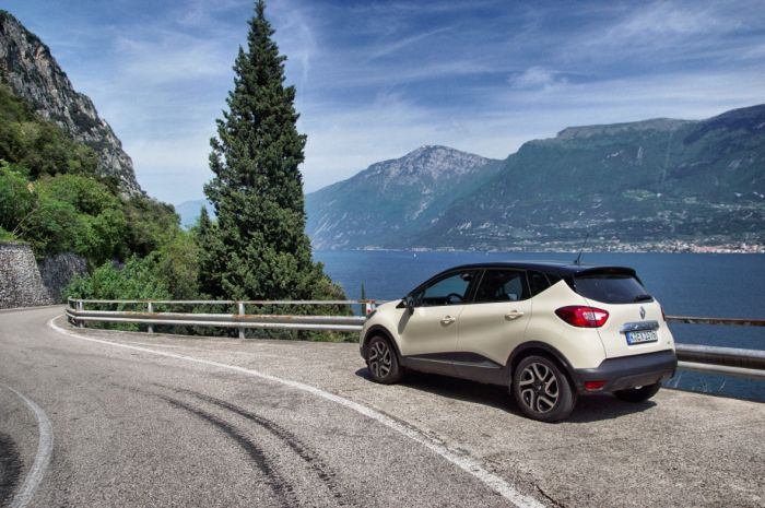 Italien-Renault Gardasee