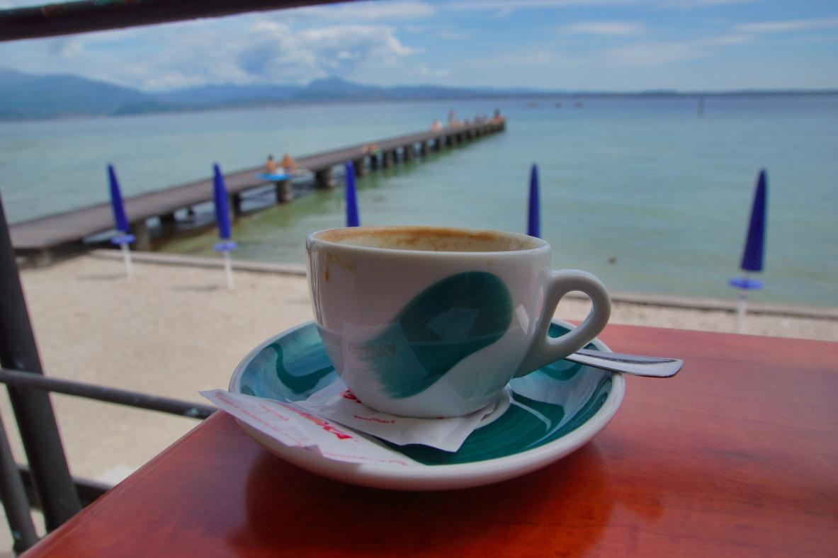 Kaffee am Gardasee