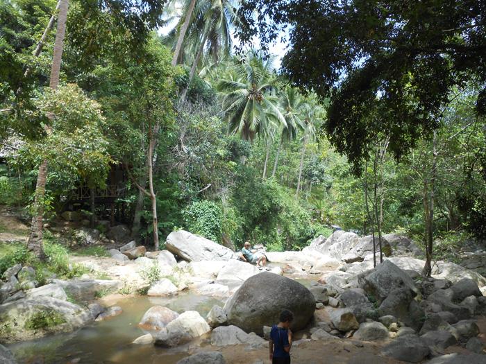 Ko Samui - waterfall paradise