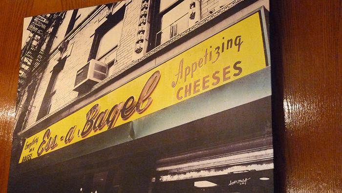 New York - Ess a bagel