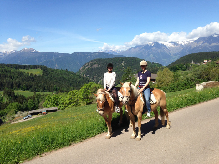 Südtirol-reiten