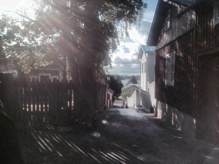 Urlaub in Turku - finnische Häuschen