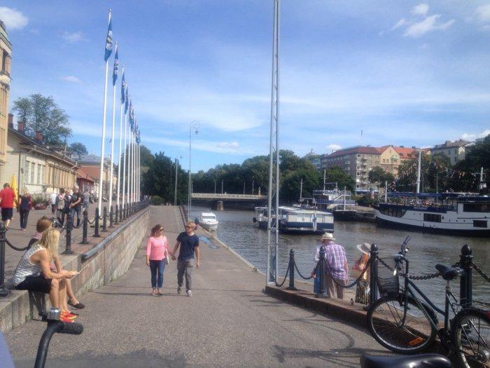 Urlaub in Turku - Turkus Promenade
