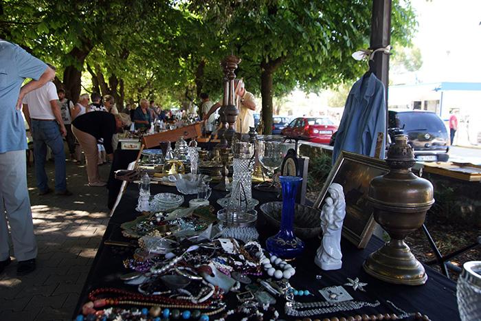 Flohmarkt in Porec