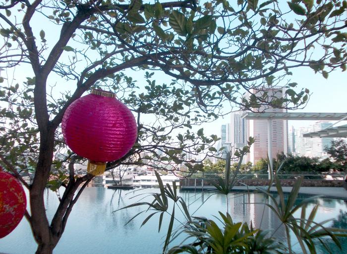 Alleine Reisen - Hotelpool Kuala Lumpur