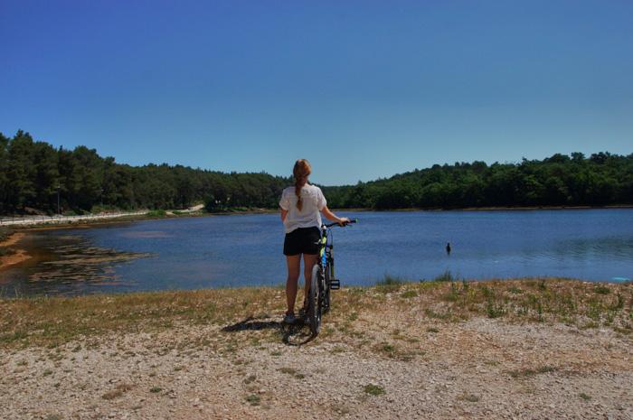 Istrien-Fahrrad-fahren