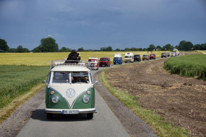 Ausfahrt Midsummer Bulli Festival