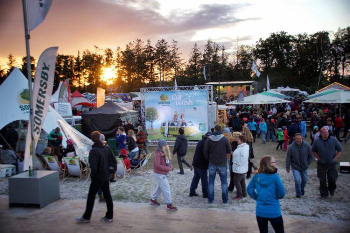 Midsummer Bulli Festival Gelände