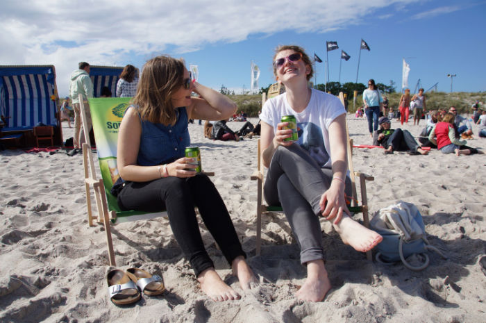 Midsummer Bulli Festival - am Strand