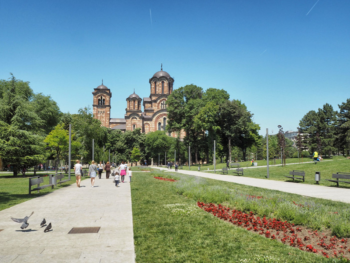 wochenende in belgrad