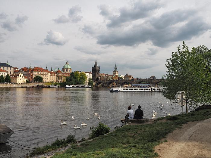 Moldau Spaziergang