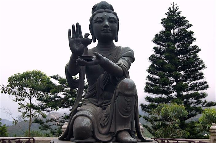 Tagesausflug auf Lantau Big Buddha oben