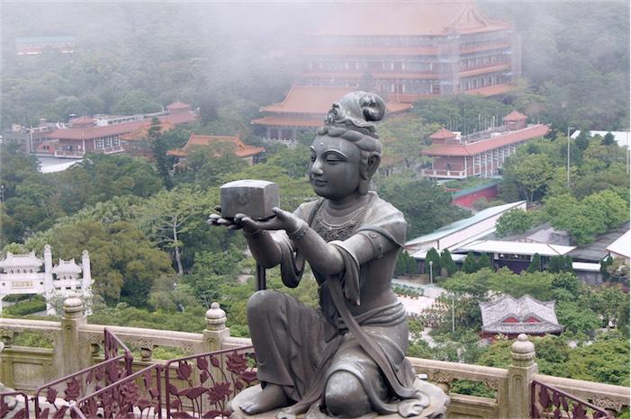 Tagesausflug auf Lantau Big Buddha von oben