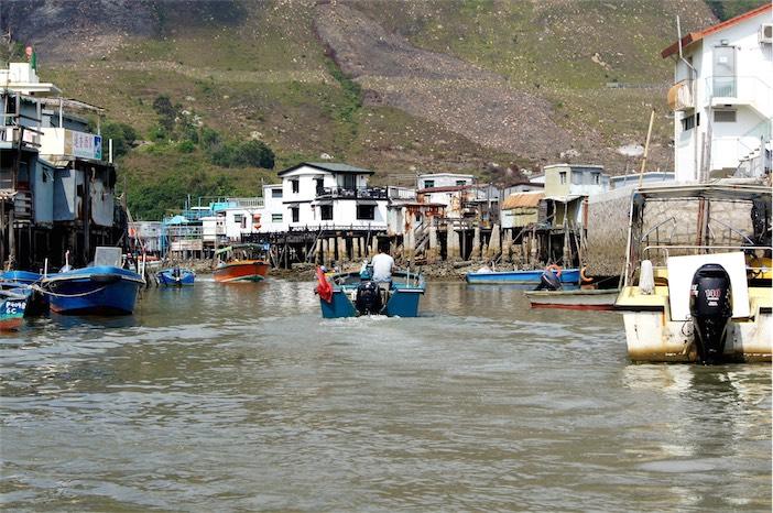 Tagesausflug auf Lantau Bootfahren in Tai O
