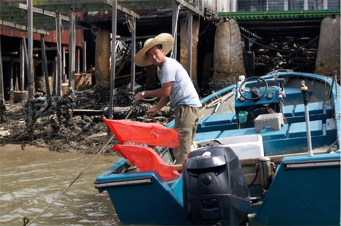 Tagesausflug auf Lantau Fischermann Tai O