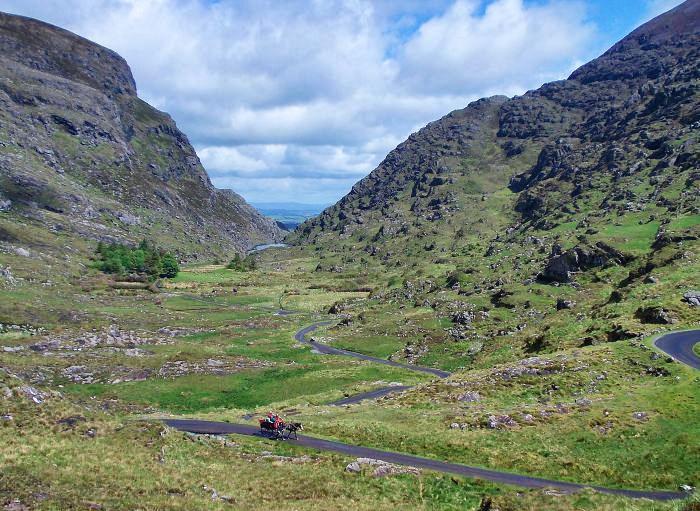 west-coast-of-ireland_Killarney Gap of Dunloe Irland