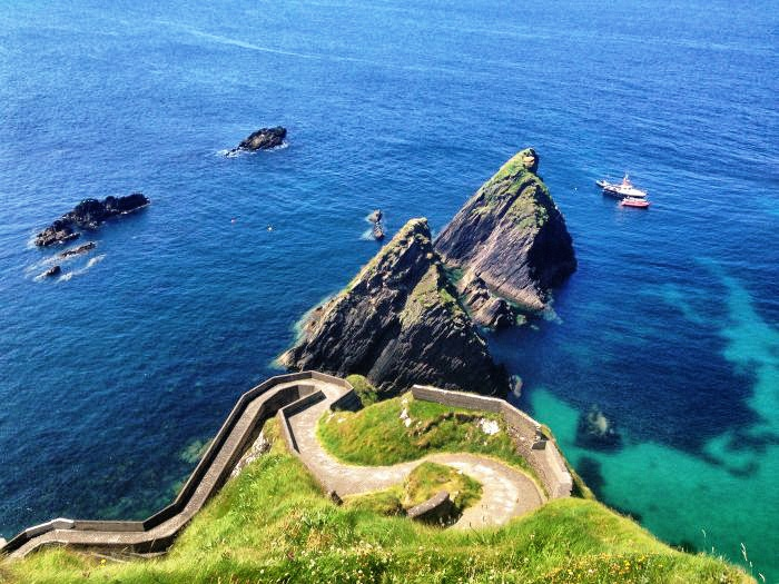Westküste in Irland - dingle-dunquin-pier