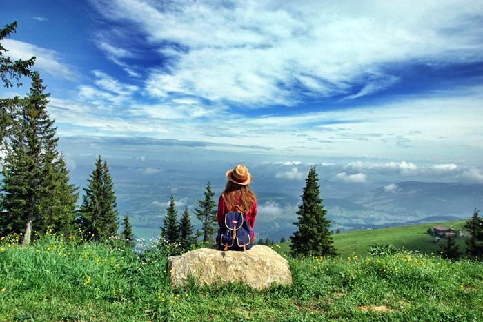Christine-Neder-Aussicht-Bregenzerwald Wanderungen in den Bergen